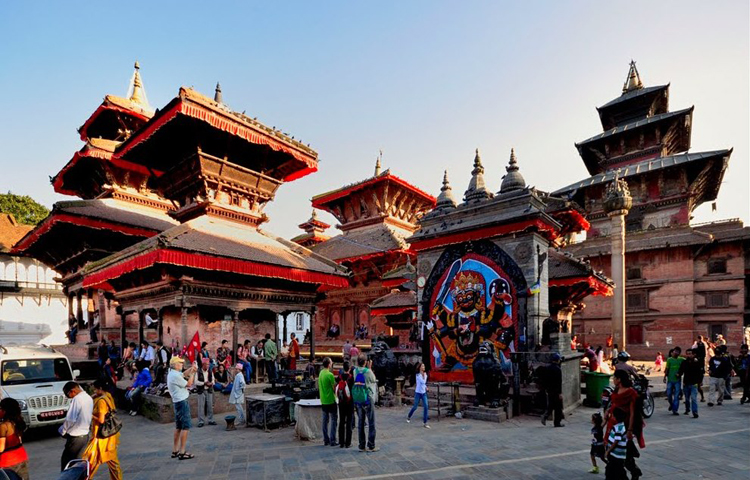Kathmandu durbar square,leaf holidays