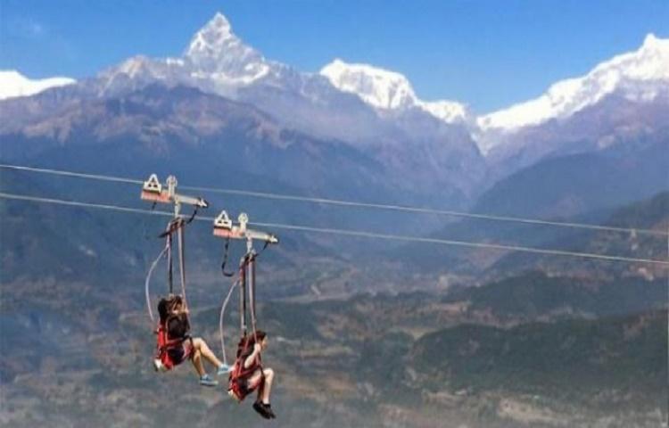 Zip Flyer in Pokhara, Zipflyer Nepal Highground Adventures