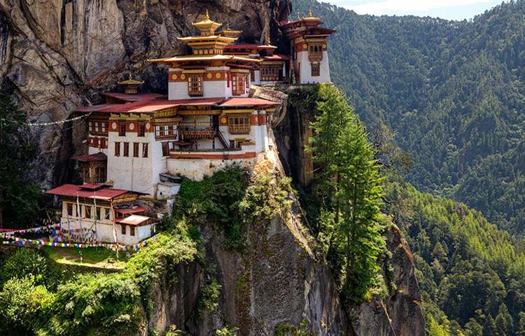 bhutan, leaf holidays treks