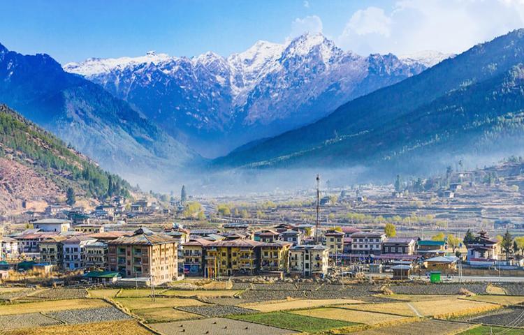 Bhutan with leaf holidays